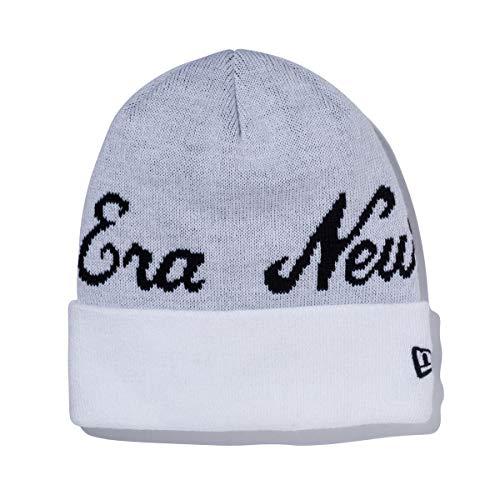 (ニューエラ) NEW ERA ニット帽 カフ BILLBOARD BASIC ホワイト/ブラック FREE
