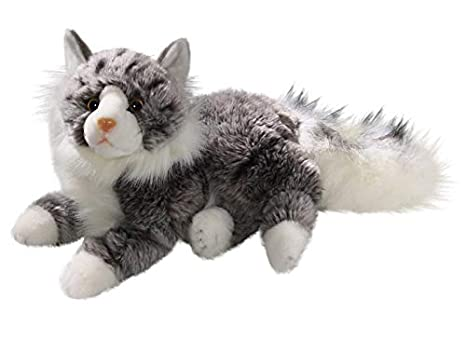 Amazoncom Cat Maine Coon 12 Inches 30cm Plush Toy Soft Toy