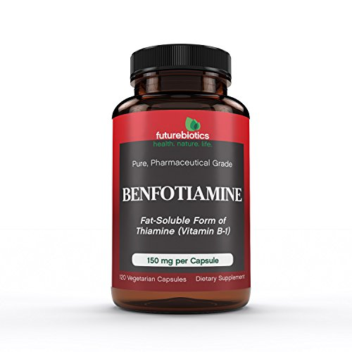 Futurebiotics Benfotiamine 150 mg, 120 Vegetarian Capsules
