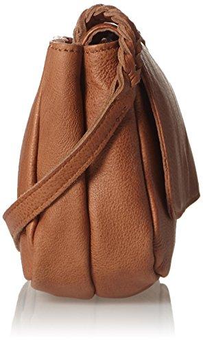 Liebeskind Berlin Kawai Double - Bolso bandolera Mujer Braun (hazelnut brown 8747)