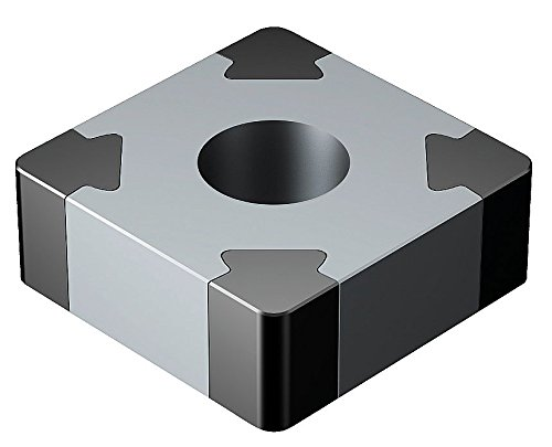- Sandvik Coromant, SNGA433S0835A 7025, T-Max P Insert for Turning, CBN, Square, Neutral Cut, 7025 Grade, Uncoated