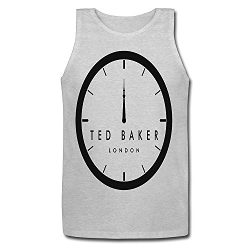 Huayuansvip Ted Baker Logo Mens T Shirt Xx Large Gray Tank Top