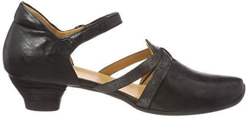 Kombi Synes Heels 09 sz Ankle Sort Women's kombi Forstropp Black Aida Aida Think Kvinners 282242 At sz 09 282242 Strap Hæler H0nRdw
