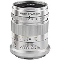 HandeVision IBERIT 75mm f/2.4 Lens for Leica SL / T (Silver)