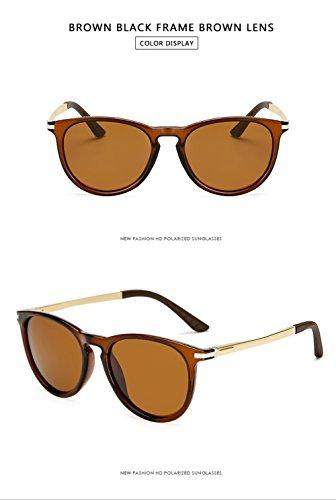 Protección para UV Sol Polarizadas C2 Gafas Hombre De Mujer Aviator 400 para C3 BYHqxA8w