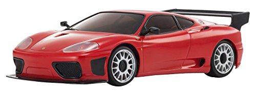 Kyosho Autoscale Mini-Z Mr-03W-RM Ferrari 360 GTC Replacement Body, Red - MZP337R Vehicle
