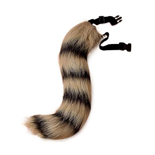 Teen Adult Faux Fur Raccoon's Tail for Cosplay
