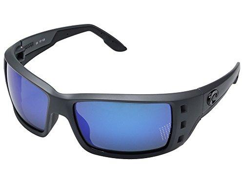 Costa Del Mar Permit 580G Permit, Matte Gray Blue Mirror, Blue - Permit Costa