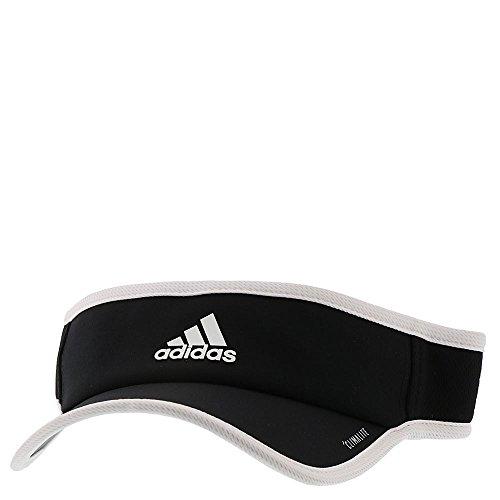 adidas Women's Superlite Visor, Black/White, One Size