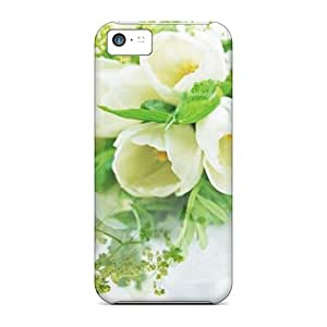 Durable Protector Cases Covers With Flowers New Hot Design For Iphone 5c