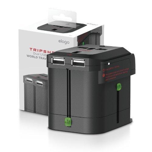 elago Tripshell Travel Adapter Dual