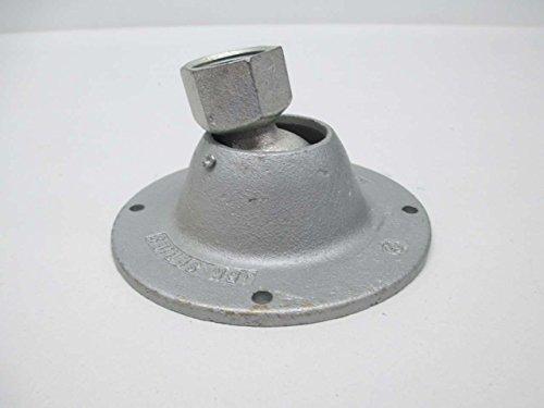 NEW APPLETON JBK-75-BS 3/4IN NPT IRON BALL SWIVEL LIGHT FIXTURE HANGER D364232 ()