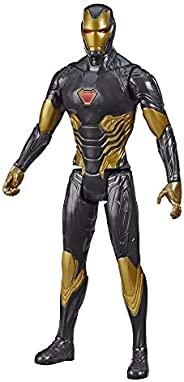 Boneco Vingadores Titan Hero Traje Dourado Homem de Ferro - E7878 - Hasbro