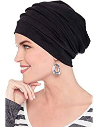 4021a2d44dc Slouchy Snood-Caps for Women with Chemo Cancer Hair Loss