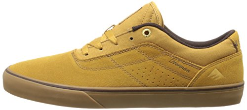 EMERICA Skateboard Shoes THE HERMAN G6 VULC TAN/GUM