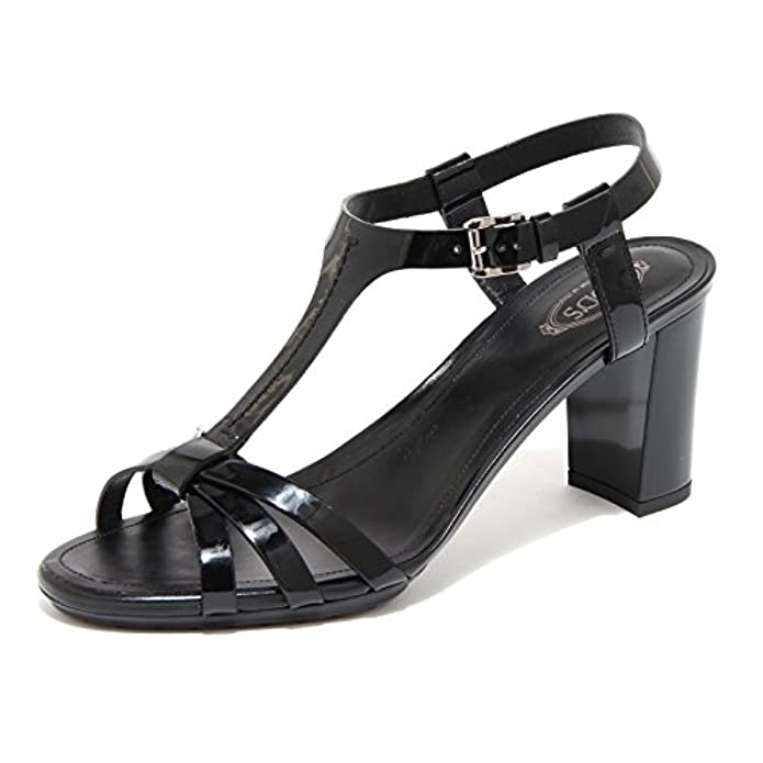 Sandalo Rd Tod's Gomma Plat 55645 Donna Women Shoes Fasce Scarpa