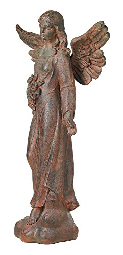 English Tudor Garden Angel 41 1/2'' High Statue by Kensington Hill (Image #4)