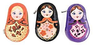 Kikkerland Babushka Manicure Set, Assorted Colors