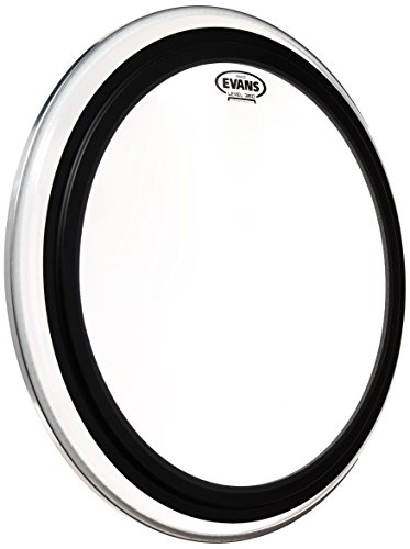Evans EMAD2 Clear Bass Drum Head, 22 Inch (2 Ply Clear Bass Drum)