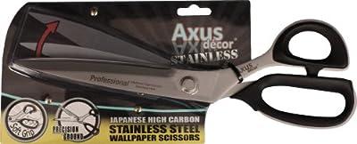 Axus D?cor Japanese Stainless Steel Wallpaper Scissors [DIY & Tools]