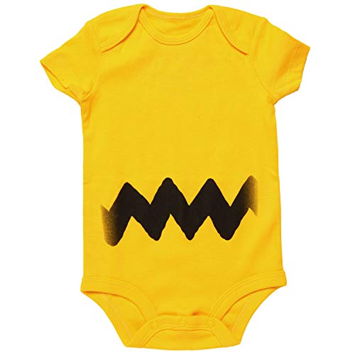 Charlie Brown I Am Charlie Brown Baby Romper Bodysuit (6-12 months) -