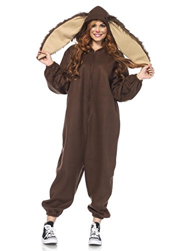Leg Avenue Women's Lop Ear Bunny Kigurumi, Brown, Small/Medium by Leg Avenue (Image #1)