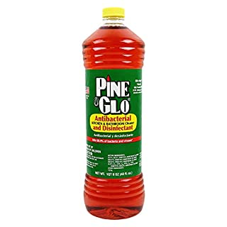 Pine Glo Antibacterial and Disinfectant Cleaner, Hospital Grade and EPA Registered. Pine Scent 40 Fl oz Bottle