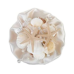 "Lillian Rose 6"" Coastal Seashell Bouquet (Renewed) 7"