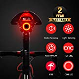 Smart Bicycle Tail Light, USB Rechargeable Ultra