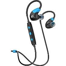 MEE audio X7 Stereo Bluetooth Wireless Sports In-Ear Headphones (Blue/Black)