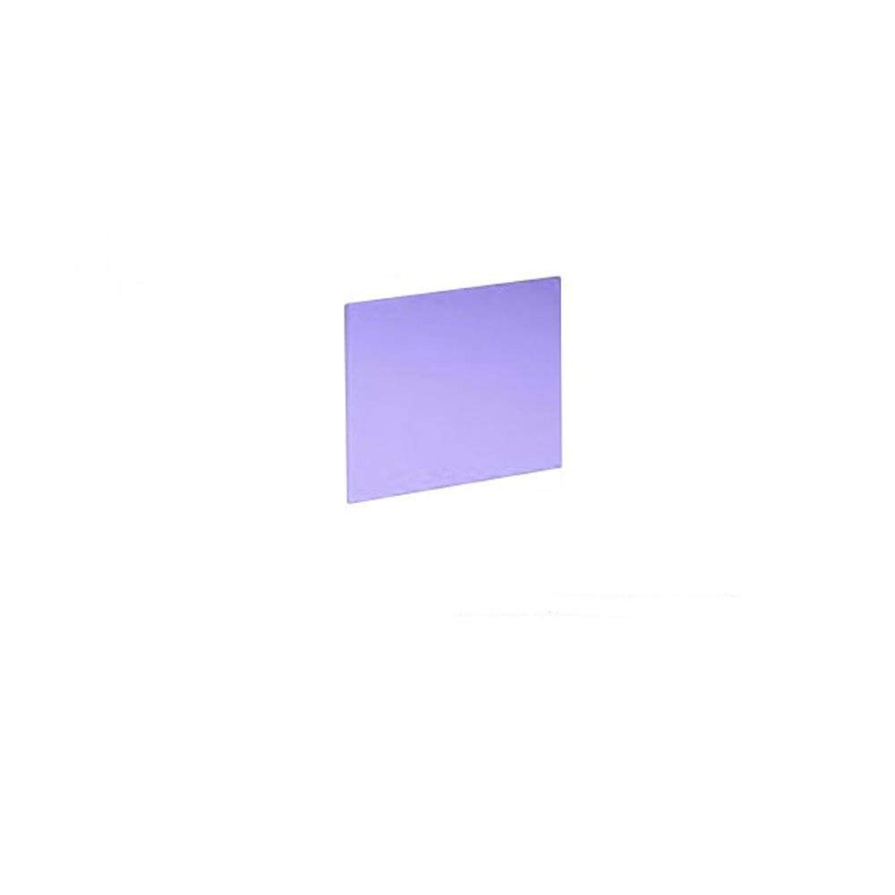 "Sodium Flare Acrylic Glass Working Sheet 6/"" X 6/"" Plate."