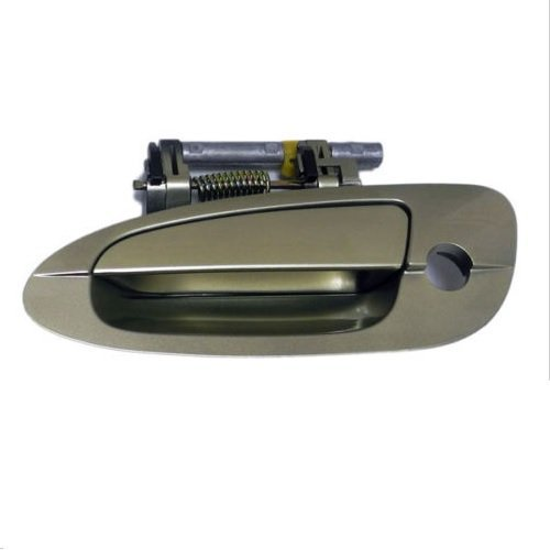 2 Door Altima - MotorKing B3771 Door Handle (02-04 Nissan Altima Exterior Outside Front Left EY1 Gold ..80607)