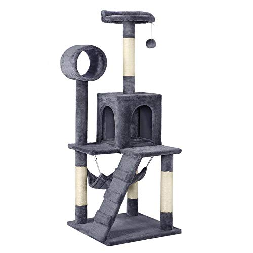 Yaheetech Cat Tree Tower Kitten Bed Furniture