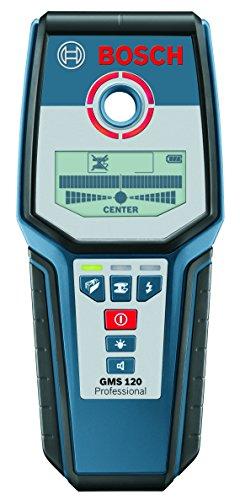 Bosch Professional Digital Detector GMS 120 (1 x 9 V block battery,...