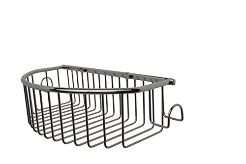 Essentials Wall Mounted Curved Basket Finish: Polished Nickel by Valsan