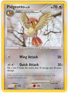 - Pokemon - Pidgeotto - Diamond & Pearl Secret Wonders - 58 [Toy]