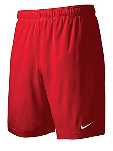 ( Nike Men's Team Equalizer Soccer Shorts, Red, Large)