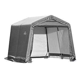 ShelterLogic Replacement Cover Kit 10x10x8 Peak Gray 90504 (7.5oz Gray)