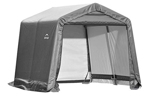 ShelterLogic Replacement Cover Kit 10x10x8 Peak 805138 (14.5oz PVC Gray)