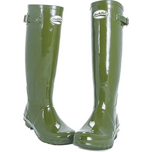 Gloss Mulberry Wellies Fit Calf Standard Women's Rockfish Supaberry w67xHX