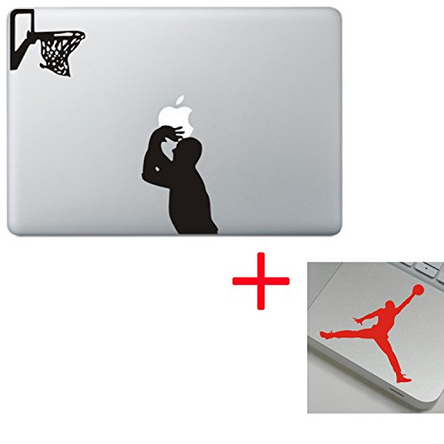 Macbook Laptop Computer Skin Decal Vinyl Sticker Colored & Black White for 13