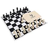 "HOLYKING Chess Set Board Game Large Travel Set 19"" × 19"" Educational Learning Developmental Toys for Kids and Adults"