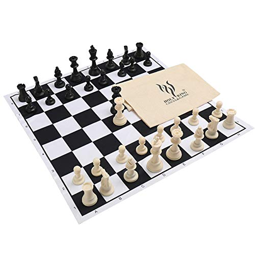 (HOLYKING Chess Set Board Game Large Travel Set 19