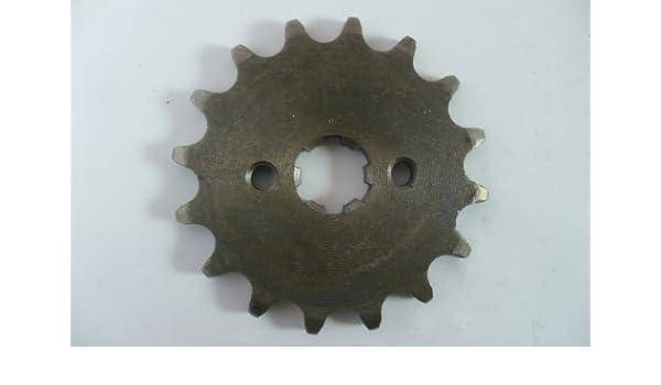 Hmparts Dirt bike pit bike Monkey dax piñón 420 15z 17mm