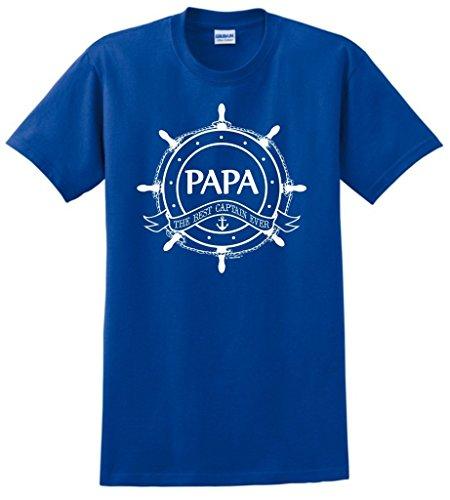 Grandpa Gift Papa Captain T Shirt