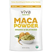 Amazon #LightningDeal 78% claimed: Viva Labs #1 Organic Maca Powder, Gelatinized for Enhanced Bioavailability, Non-GMO