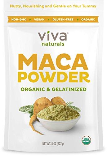 Amazon #LightningDeal 78% claimed: Viva Labs #1 Organic Maca Powder, Gelatinized for Enhanced Bioavailability, Non-GMO