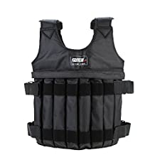 ZJchao Adjustable Weighted Vest Weight Jacket Exercise Boxing Training Waistcoat Invisible Weightloading Sand Clothing