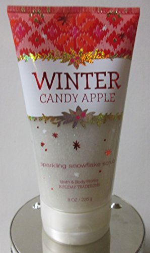 Bath and Body Works Winter Candy Apple Sparkling Snowflake Scrub