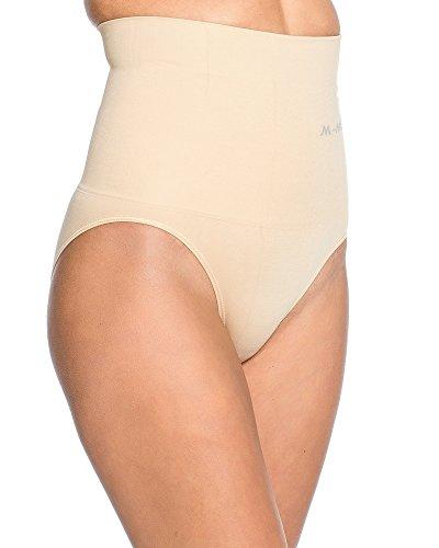 Kendindza Damen Microfaser Miederunterhose Shapeweat Höschen - Hose mit Taillenmieder Slip Panty - Strafft Bauch - Bauchweg Haut ki8JYWm